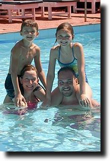 The Stutz Family in Goa
